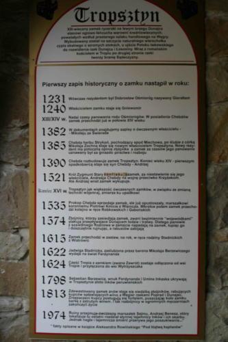 zamek-tropsztyn-historia
